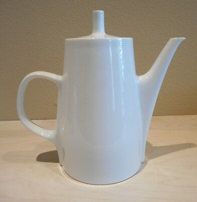 Melitta White Porcelain Coffee Tea Pot 4 Cups Germany