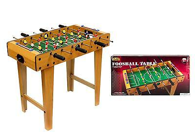 Table Football Table with Legs Real Wood Soccer Game Foosball - 6 years +