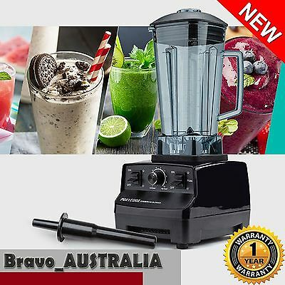 NEW 2L 2200W Commercial Blender - Mixer Juicer Food Processor Smoothie Ice Crush