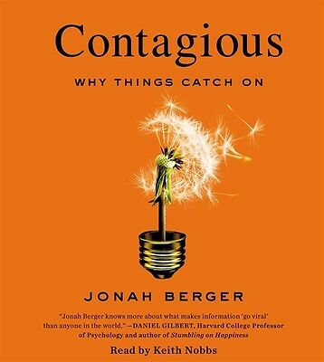Contagious - Why Things Catch On by Jonah Berger, Audiobook, CD, Unabridged