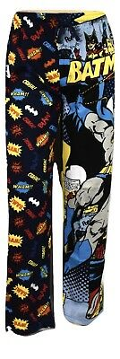 Mens Licensed DC Comics Batman Lounge Sleep Pajama Pants NIP S,M,L,XL,2XL