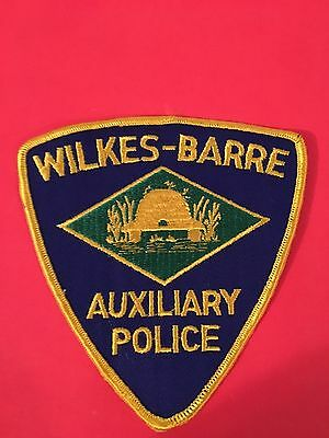 Wilkes Barre Auxiliary Pennsylvania  Police    Looks Old