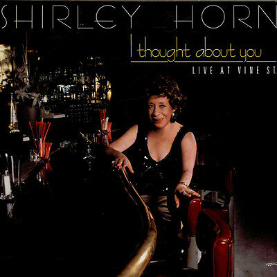 Shirley Horn - I Thought About You (Vinyl LP - 1987 - US - Original)