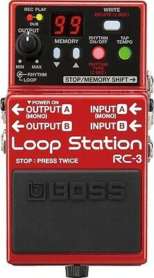 Boss RC-3 Loop Station Compact Phrase Recorder Pedal RC3