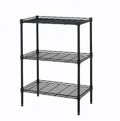 New 3 Tier Wire Shelving Cart Rack Metro Commercial Industrial Cart 773