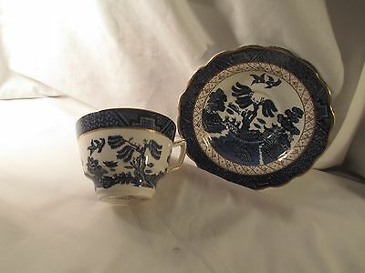 Booth's England  Real Old Willow Cup & Saucer  A8025