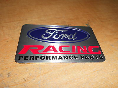 Ford Racing Mustang Ford Performance Metal Plate Emblem