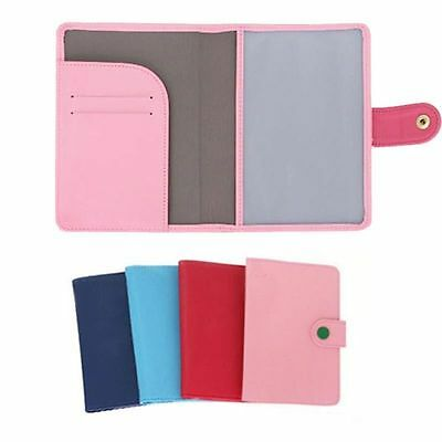 New Travel Organizer Passport Holder Protector Cover Card Case Wallet