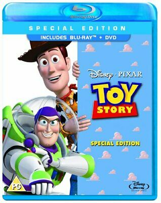 Toy Story (Special Edition) (Blu-ray / DVD) - DVD  4OVG The Cheap Fast Free Post