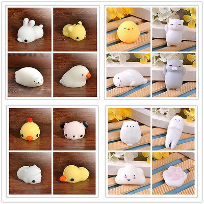 Chic Kids Gift Cute Soft Stretch Sea Lion Mochi Squeeze Toys Press Doll Squishy