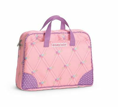 New~Bitty Baby DIAPER BAG/PAD ~American Girl Bitty's Pink/Purple RETIRED