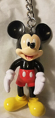 Disney Parks Mickey Mouse Bendable Poseable Keychain - NEW