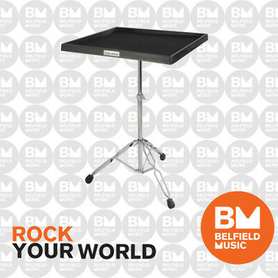 Gibraltar 7615 Percussion Table on Double Braced Stand Padded 24''x24'' GI7615