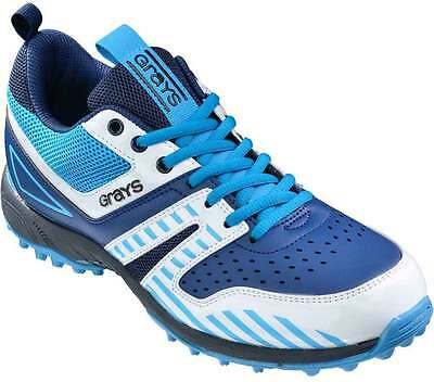 Grays G5000 Hockey Shoes Sports Astro Trainers Navy/White/Sky