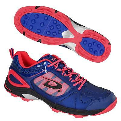 Dita Myth Hockey Shoes Astro Trainers Blue/Fluo Pink/Black
