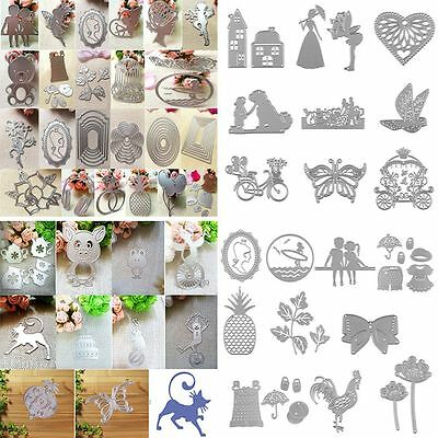 Metal Cutting Dies Stencil For DIY Scrapbooking Album Embossing Paper Card Decor