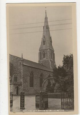 Church Of Our Lady Of St David Naas Ireland RP Postcard 114a