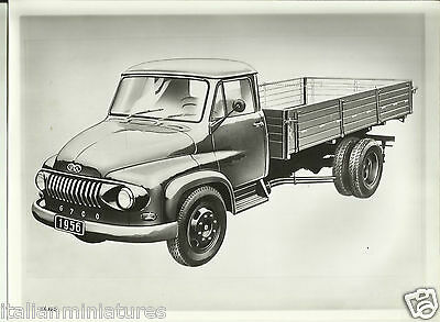 Ford G700 Truck Lorry 1956 Original Photographic Sketch Excellent Condition