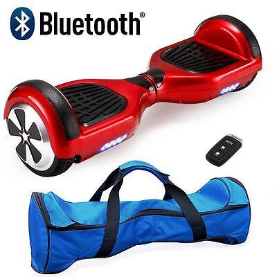Self Balancing Electric Scooter Hoverboard 2 Wheel Swegway Board Bluetooth Safe