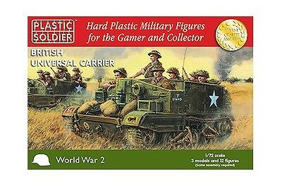 Plastic Soldier Company BNIB 1/72nd British Universal Carrier WW2V20007