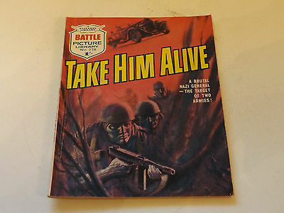 BATTLE PICTURE LIBRARY NO 278,dated 1966!,GOOD FOR AGE,VERY RARE,50 yrs old.