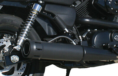 """FireBrand Loose Cannon 4"""" Slip On Exhaust For Harley XG Street 500 750 15-17"""