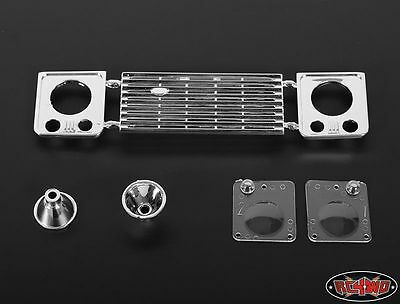 RC4WD ZB0051 Land Rover Defender D90 Front Grille and Light Assembly #Z-B0051