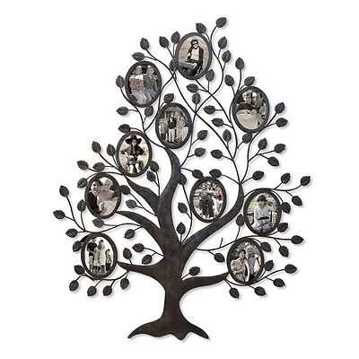 10 Opening Decorative Family Tree Wall Hanging Collage Picture Frame