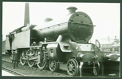 """LMS """"Baltic Tank"""" Class 4-6-4T No. 11111. Real Photographs Broadstairs Photo"""