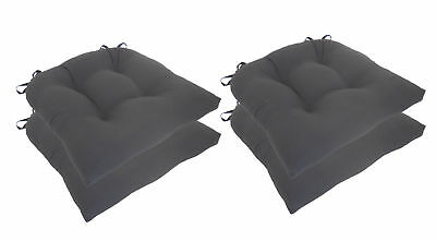 Essential Microfiber Chair Pad Set of 4