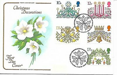 GB 1980 Christmas Cotswold FDC special cancel