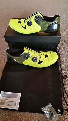 Specialized S-Works 6 road shoes size EU44 Neon Yellow