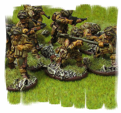 PAINTED! US Para 500 points Army - 28mm Metal Models Warlord Games Bolt Action