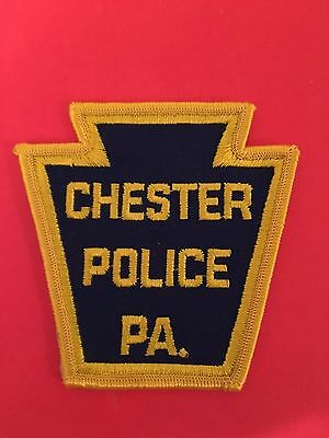 Chester  Pennsylvania  Police Shoulder Patch  Used
