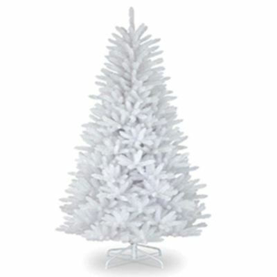 4ft 120cm Artificial Christmas Tree SNOW White Metal Stand Xmas Decorations