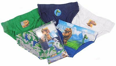 Boys The Good Dinosaur Briefs Pants Slips Underwear Ex Store 18-24M to 8-9Y