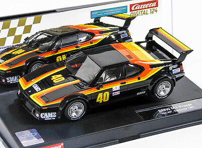 "Carrera 23833 Digital124 BMW M1 Procar ""No.40, Daytona 1981"" 1980 NEU/OVP!"