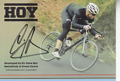 Chris Hoy Signed Picture