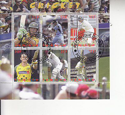 Cricket Sheet Of Stamps