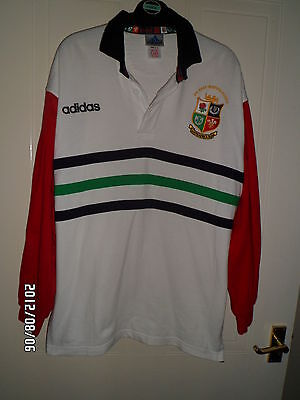 British Lions Rugby Shirt 1997 South Africa Medium Adult Victory In South Africa