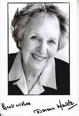 Doreen Mantle Signed Picture