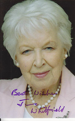 June Whitfield Signed Picture