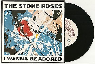 "The Stone Roses I Wanna Be Adored Near Mint 7"" Single In Original Matt Pic Cover"