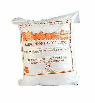 Toy Stuffing / Filling By Minicraft 250g Bag - Ideal For a Range of Crafts