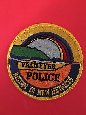 Valmeyer Illionis Police Shoulder Patch