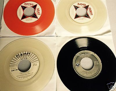 "Reggae Joblot - 4x Limited Edition 7"" - Clear & Colored vinyl Roots & DUB (NEW)"