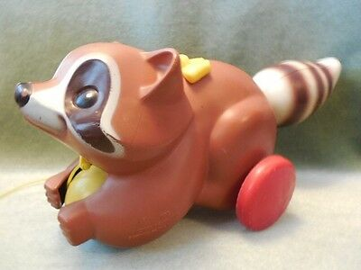 Fisher Price 1979-82 ROLY RACCOON #172