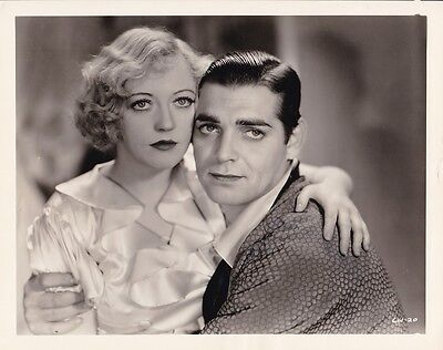 MARION DAVIES CLARK GABLE Vintage 1932 POLLY OF THE CIRCUS MGM Portrait Photo