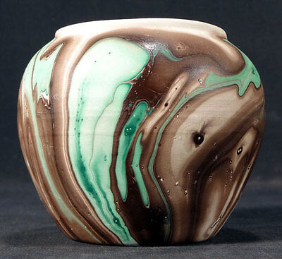Garden Of The Gods Colorado Pottery Vase Retro Mission Swirl Style Décor 1950'S