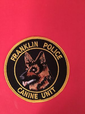 Franklin Wisconsin Police  K-9 Shoulder Patch